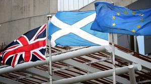 The Scottish Government wants a second referendum on Brexit even if a deal is reached (Jane Barlow/PA)