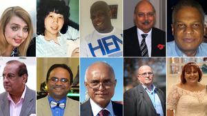 Undated composite file photos of (top row left to right) nurse Rebecca Mack, nurse Alice Kit Tak Ong, nurse Thomas Harvey, Dr Habib Zaidi and consultant Amged El-Hawrani. (middle row left to right) consultant geriatrician Anton Sebastianpillai, Doctor Abdul Mabud Chowdhury, surgeon Jitendra Rathod, Dr Fayez Ayache and patient discharge planner Barbara Moore. (bottom row left to right) healthcare worker Donna Campbell, Welsh NHS worker Gareth Roberts, plaster technician Kevin Smith, nurse Leilani Dayrit and pharmacist Pooja Sharma. They are among the NHS workers who have died during the coronavirus pandemic.