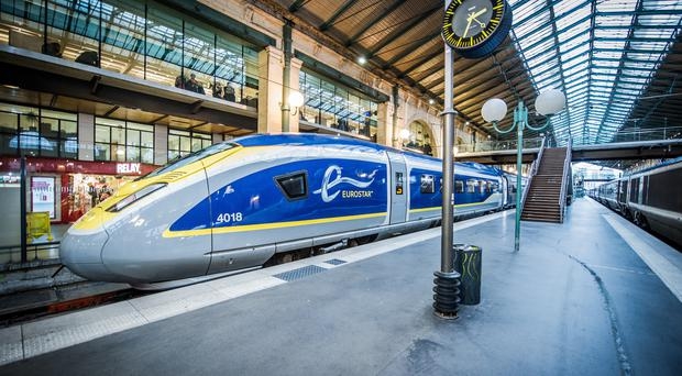 The Eurostar service and flights in and out of France are expected to be severely disrupted from today amid crippling nationwide strikes (Eurostar Handout/PA)