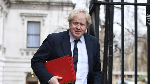 Boris Johnson is on a diplomatic dash to the United States (Stefan Rousseau/PA)
