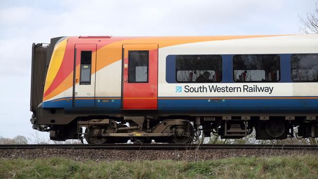 South Western Railway began operating in August 2017 (Andrew Matthews/PA)
