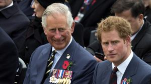 The Prince of Wales and the Duke of Sussex (Paul Edwards/The Sun/PA)