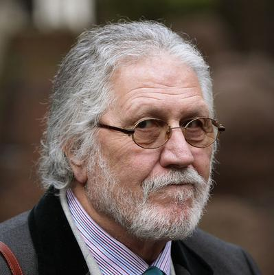"""A musician who modelled for former DJ Dave Lee Travis (pictured) said he had been """"very very professional"""""""