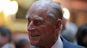 Prince Philip's last public engagement at the Royal Marines charity parade on August 2 (Matt Dunham/PA)