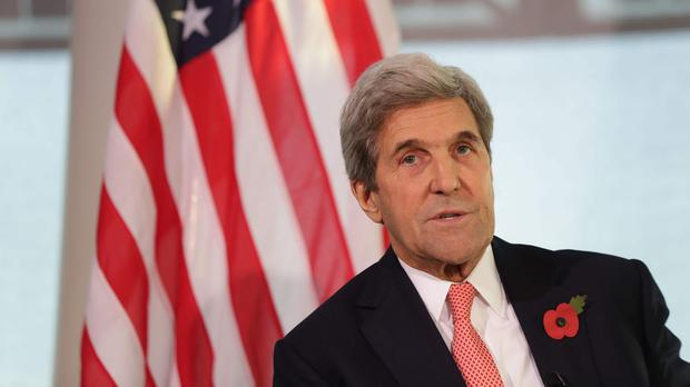 John Kerry said 'it's time to get to work' on tackling climate change (PA)