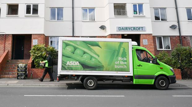 Asda store workers wanted the same pay as depot workers (PA)