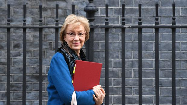 Andrea Leadsom, who could be on her way out of the Cabinet, has warned Boris Johnson about matters of gender diversity (Stefan Rosseau/PA)