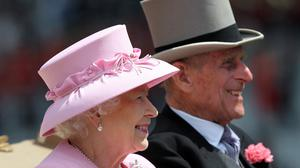 The Queen and Duke of Edinburgh arrive at the 2012 Royal Ascot meeting