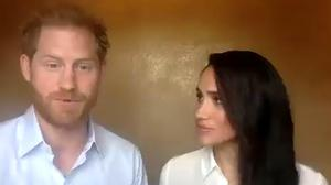 Harry and Meghan have been talking to young leaders (The Queen's Commonwealth Trust/PA)