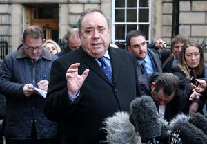 Former first minister Alex Salmond took the Scottish Government to court over its handling of harassment complaints against him. (Jane Barlow/PA)
