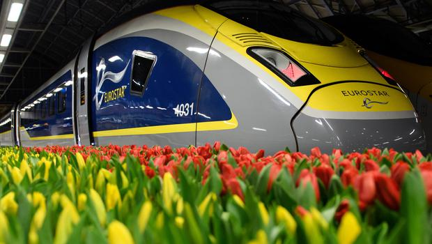Direct trains from Amsterdam to London launch in April (Eurostar/PA)