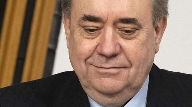 Alex Salmond had alleged that the Government was responsible for a pattern of 'non-disclosure' of evidence (Andy Buchanan/PA)