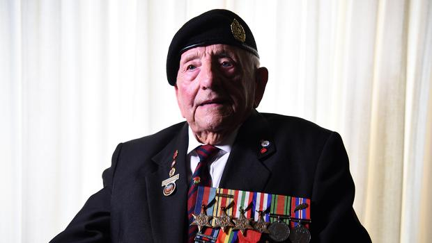 D-Day veteran Don Sheppard (Kirsty O'Connor/PA)