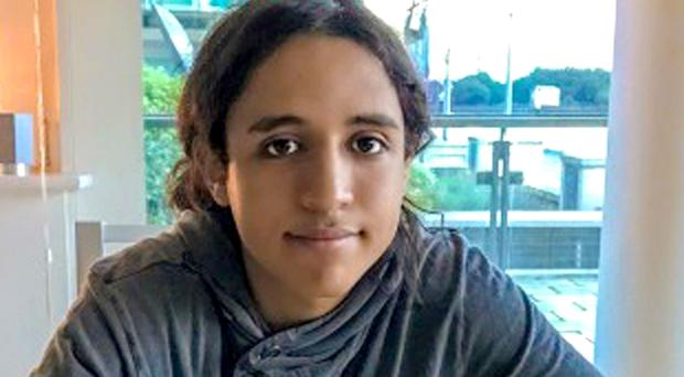 Law student Sami Sidhom, 18, who was stabbed to death as he walked home from a football match, yards from his front door in Forest Gate in 2018 (Metropolitan Police/PA)