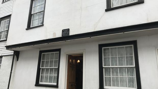The house where Christopher Jones, captain of the Mayflower, once lived in King's Head Street in Harwich, Essex. The house is being opened to the public as a tourist attraction. (Sam Russell/ PA)
