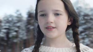 Dundee ice skater Darcy Murdoch features in the O2 ad (O2/PA)