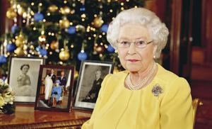 The Queen during her Christmas Day broadcast to nation