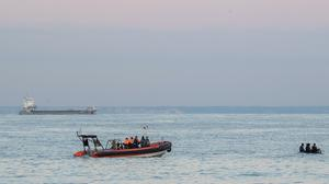 French authorities dealing with migrant crossings (Prefecture Maritime/PA)