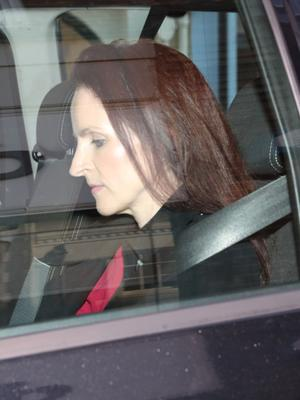 Victoria Cilliers whose husband Emile Cilliers was found guilty of trying to murder her (Andrew Matthews/PA)