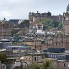 Edinburgh commuters spend an extra seven days and four hours a year in peak traffic, the report found (Jane Barlow/PA)