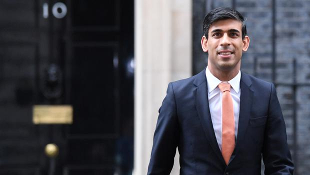 Newly installed Chancellor of the Exchequer Rishi Sunak leaving Downing Street (Stefan Rousseau/PA)
