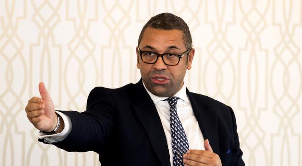 Tory party chairman James Cleverly has apologised for cases of Islamophobia within his party (Liam McBurney/PA)
