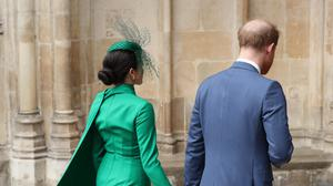 Harry and Meghan are ending their roles as working royals (Yui Mok/PA)