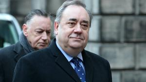 Alex Salmond was awarded £512,250 after the Scottish Government's unlawful investigation into claims of sexual harassment (Jane Barlow/PA)