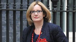"Amber Rudd says gas is ""central"" to ensuring the UK's energy security"