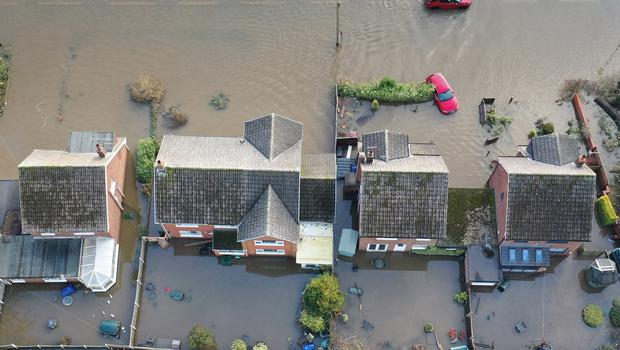 Flood-hit homes will be able to receive grants to make them more resilient to future flooding (Richard McCarthy/PA)