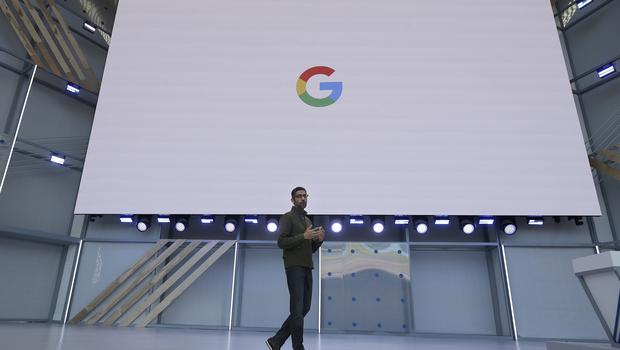 Google demonstrated the AI phoning a hair salon and a restaurant and interacting with real people to make bookings at its I/O developer conference (Jeff Chiu/AP)