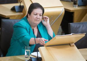Jackie Baillie hit out at 'continued evasion' (Danny Lawson/PA)