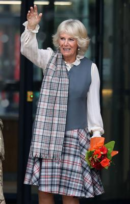 Camilla is known as the Duchess of Rothesay in Scotland (Andrew Milligan/PA)