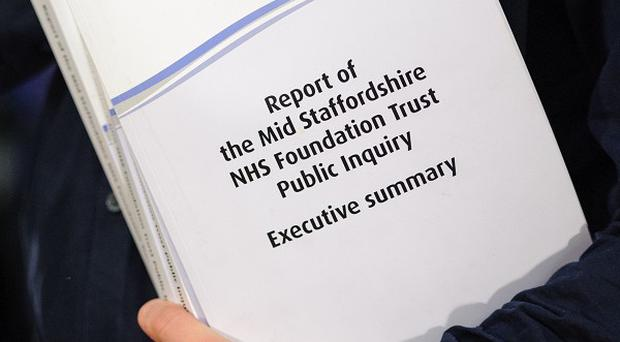 Five hospital trusts will be investigated after the inquiry's findings were published