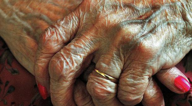 Police are investigating the death of an elderly woman who was left without care in her own home for nine days