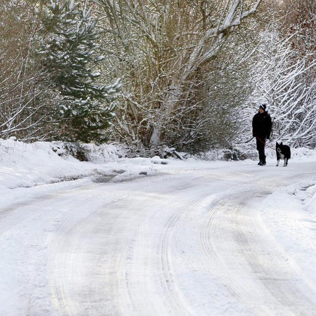 Forecasters have warned of more snowfall