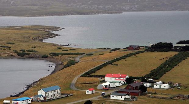 William Hague has accused Argentina of 'bullying and intimidatory' behaviour over the Falklands