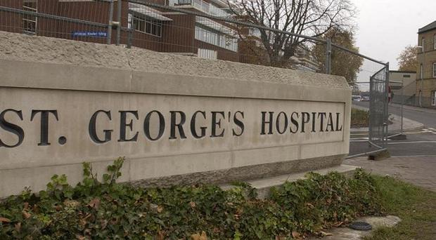 Fisherman's Friends singer Trevor Grills is being treated at St George's Hospital in London following a freak accident