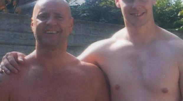 David Short and his son Mark, who were allegedly killed by Dale Cregan (Greater Manchester Police/PA)