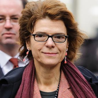 Vicky Pryce could not be reduced to a 'quivering jelly', a prosecutor claimed