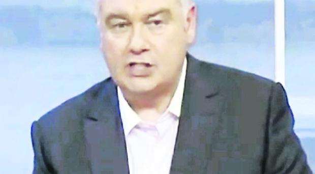 Eamonn Holmes apologises on This Morning programme