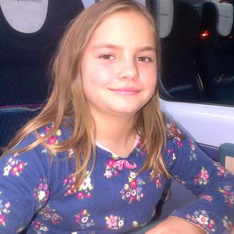 Jemima Prees, 10, died after hitting a tree at high speed while skiing in the Austrian Alps on a half term holiday with her family (Wiltshire Police/PA)