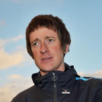 Sir Bradley Wiggins was knocked off his bike near his home in Eccleston last year