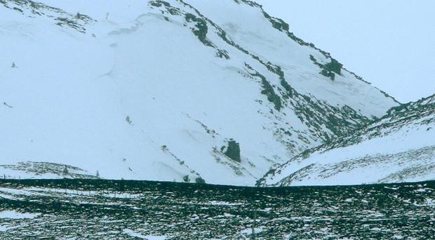 The pair died after an avalanche in the Chalamain Gap area of the Cairngorms