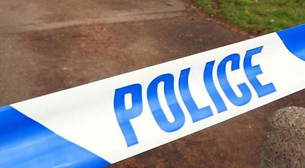 Police say five people were injured when a balcony collapsed in Brighouse, West Yorkshire