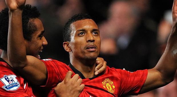 Manchester United's Luis Nani has been involved in a car crash with a police vehicle