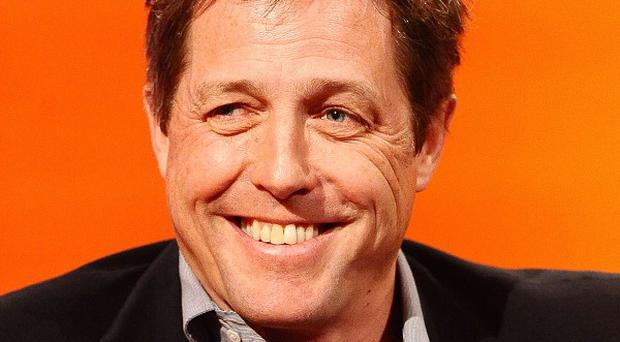 Hugh Grant has become a father for the second time