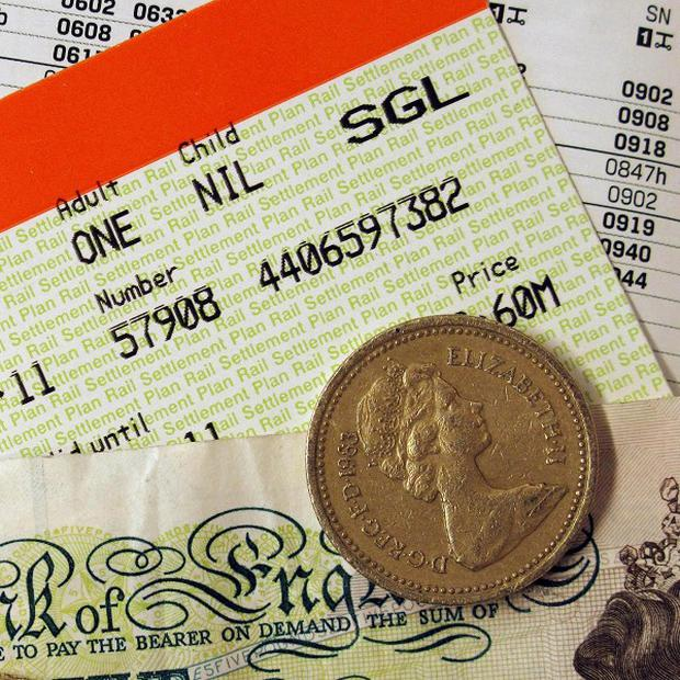Only 22 per cent of train travellers feel their service is improving despite above-inflation fare rises last month