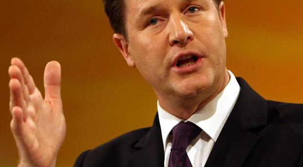 Nick Clegg will accuse Ed Miliband of plagiarising Liberal Democrat ideas