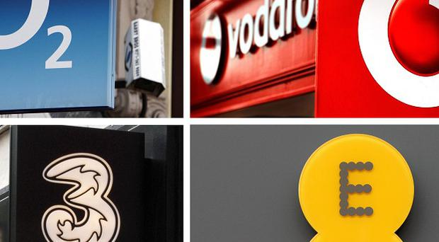 O2, Vodafone, EE and Hutchison 3G were successful in the 4G bidding process